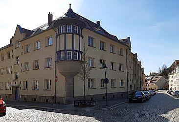 View of a corner house Am Hirschwinkel Nr. 1