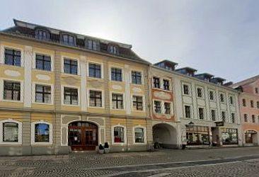 View of a ow of houses in Schwarzen Straße